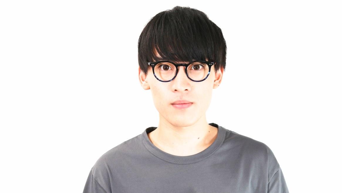 Oh My Glasses TOKYO Richard omg-049 6-48 [黒縁/鯖江産/丸メガネ]  6
