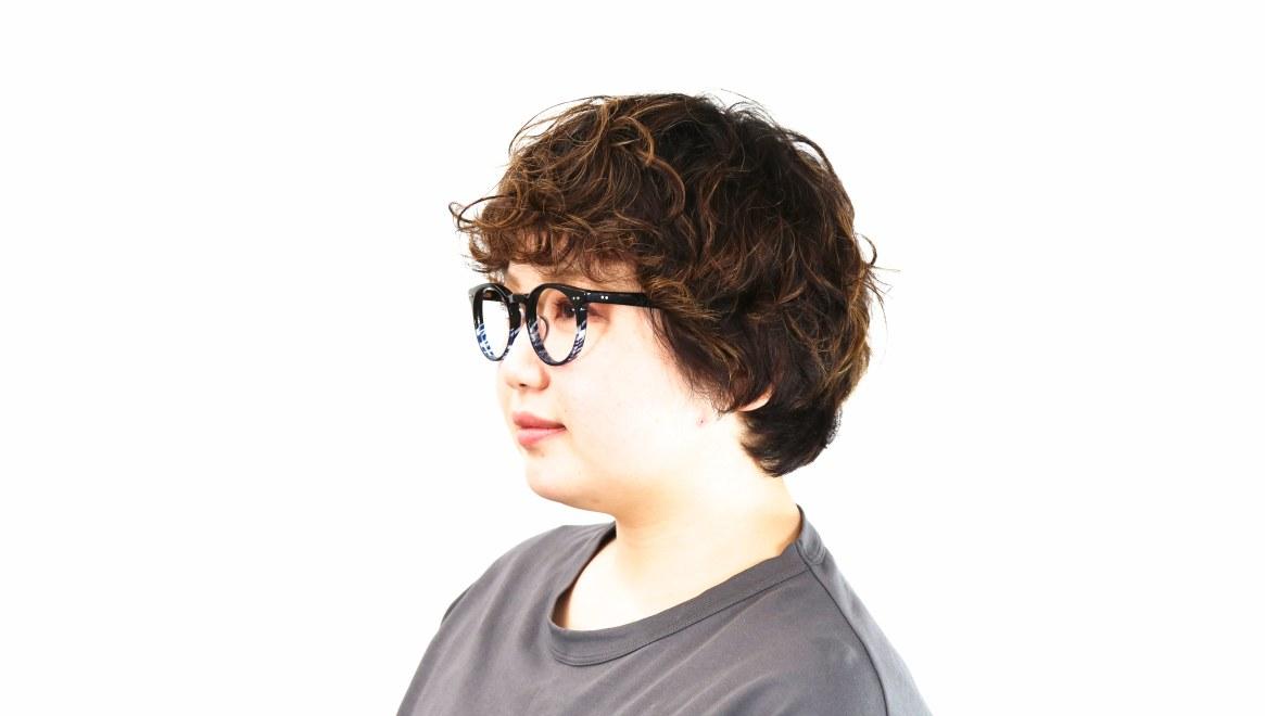 Oh My Glasses TOKYO Richard omg-049 6-48 [黒縁/鯖江産/丸メガネ]  9