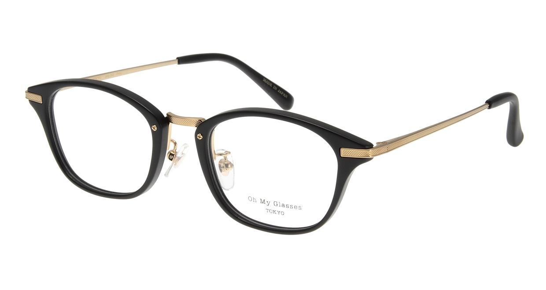 Oh My Glasses TOKYO Philip omg-054-10-48 [黒縁/鯖江産/ウェリントン]