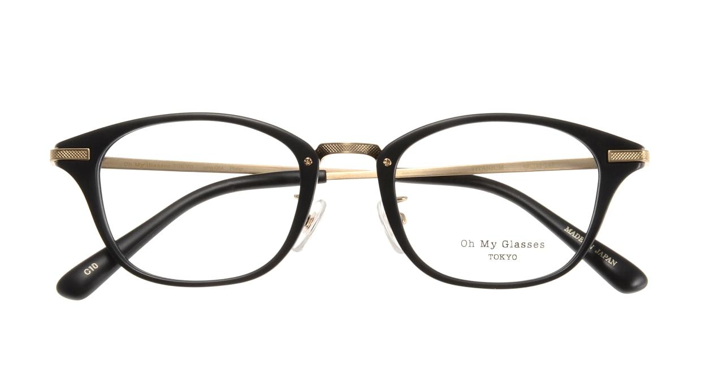 Oh My Glasses TOKYO Philip omg-054-10-48 [黒縁/鯖江産/ウェリントン]  3