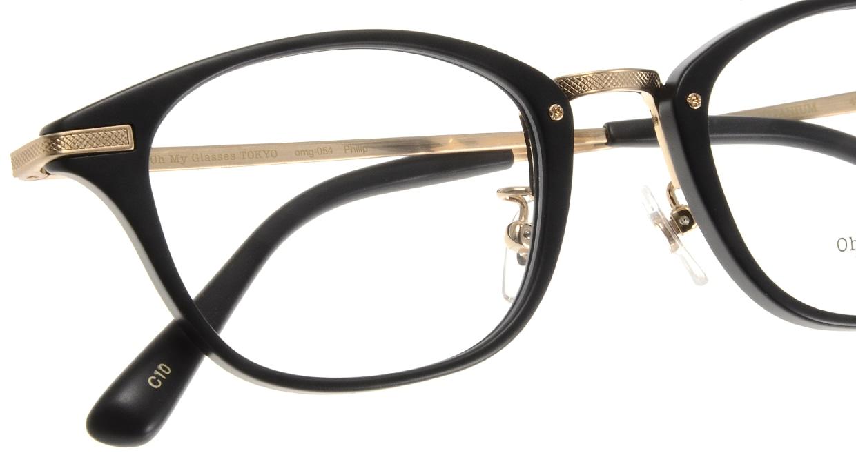 Oh My Glasses TOKYO Philip omg-054-10-48 [黒縁/鯖江産/ウェリントン]  4