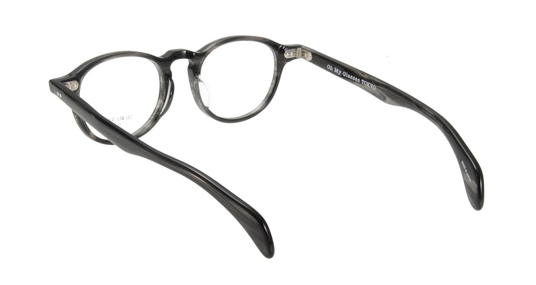 Oh My Glasses TOKYO Oliver omg-006 6-47 [黒縁/鯖江産/丸メガネ]  2