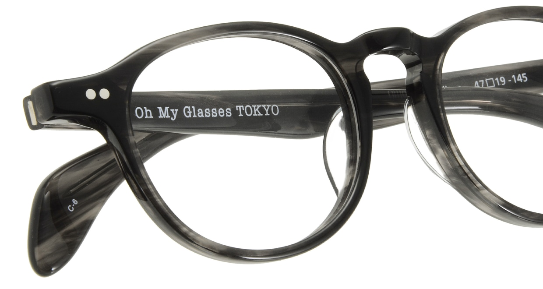 Oh My Glasses TOKYO Oliver omg-006 6-47 [黒縁/鯖江産/丸メガネ]  4
