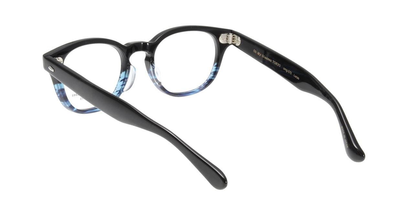 Oh My Glasses TOKYO Lucas omg-070-6-48 [鯖江産/丸メガネ/青]  2