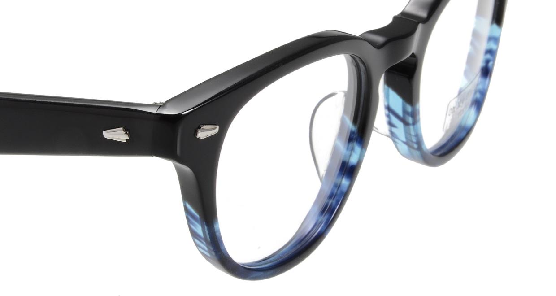 Oh My Glasses TOKYO Lucas omg-070-6-48 [鯖江産/丸メガネ/青]  4