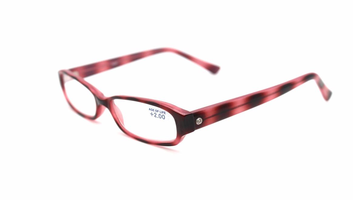 レンテ LT-0222-1-+2.0 [スクエア/安い/ピンク]  1