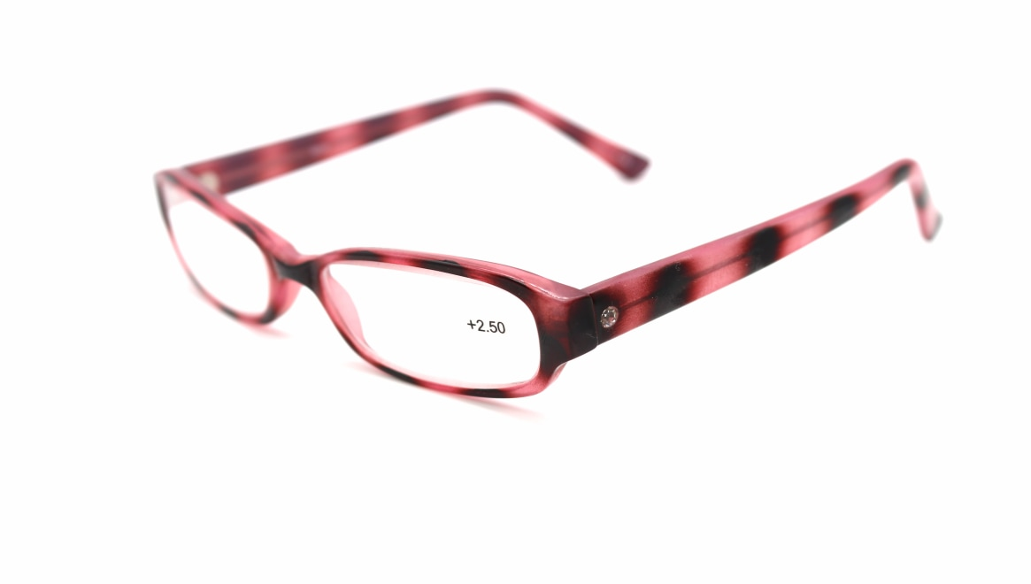レンテ LT-0222-1-+2.5 [スクエア/安い/ピンク]  1