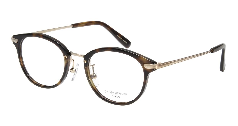 Oh My Glasses TOKYO Owen omg-072-24-15 [鯖江産/丸メガネ/べっ甲柄]