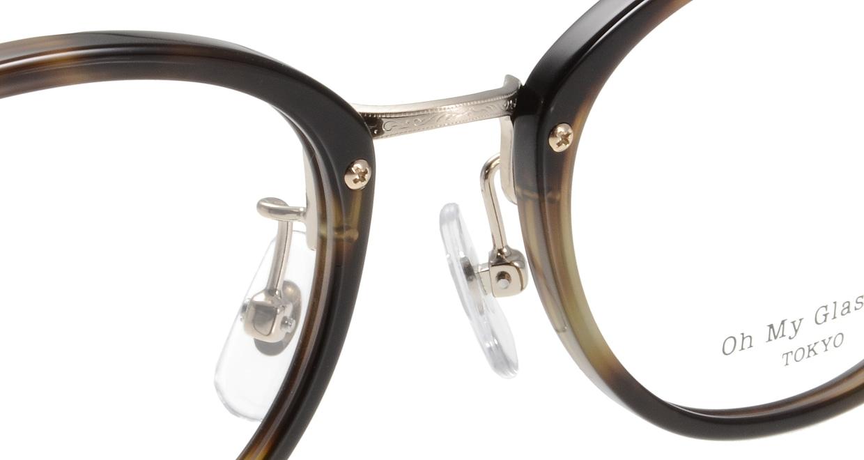 Oh My Glasses TOKYO Owen omg-072-24-15 [鯖江産/丸メガネ/べっ甲柄]  4