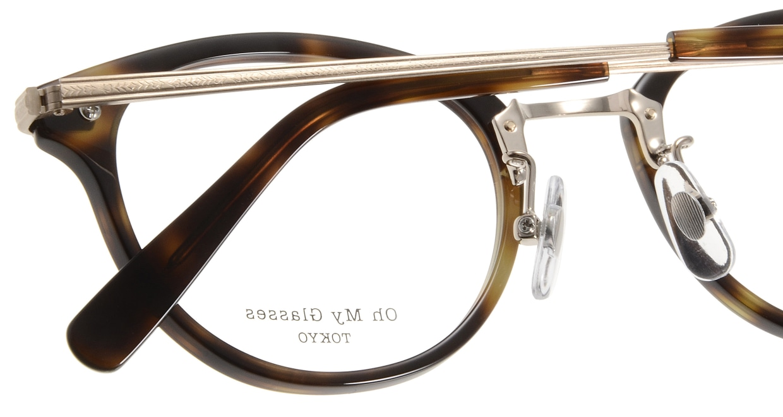 Oh My Glasses TOKYO Owen omg-072-24-15 [鯖江産/丸メガネ/べっ甲柄]  5
