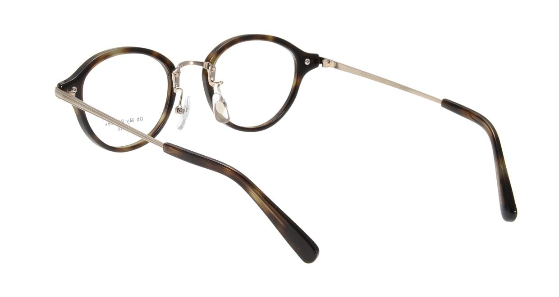 Oh My Glasses TOKYO Mickey omg-073-24-15 [鯖江産/丸メガネ/べっ甲柄]  2