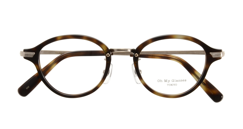 Oh My Glasses TOKYO Mickey omg-073-24-15 [鯖江産/丸メガネ/べっ甲柄]  3