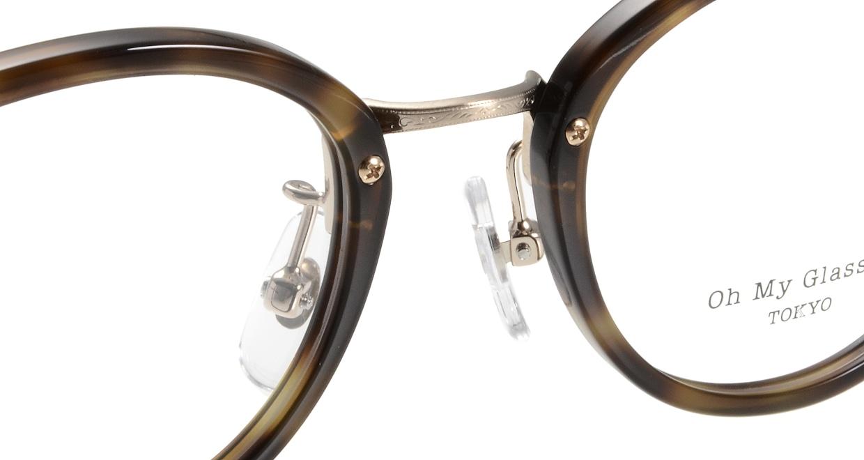 Oh My Glasses TOKYO Mickey omg-073-24-15 [鯖江産/丸メガネ/べっ甲柄]  4