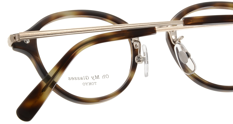 Oh My Glasses TOKYO Mickey omg-073-24-15 [鯖江産/丸メガネ/べっ甲柄]  5