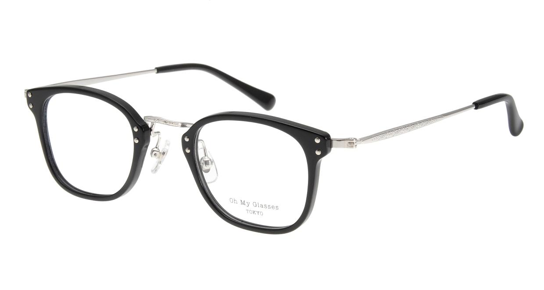 Oh My Glasses TOKYO Ivy omg-080-1 [黒縁/鯖江産/ウェリントン]