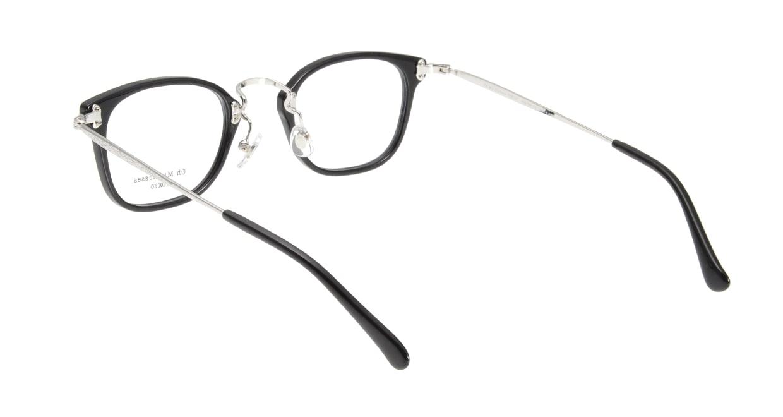 Oh My Glasses TOKYO Ivy omg-080-1 [黒縁/鯖江産/ウェリントン]  2