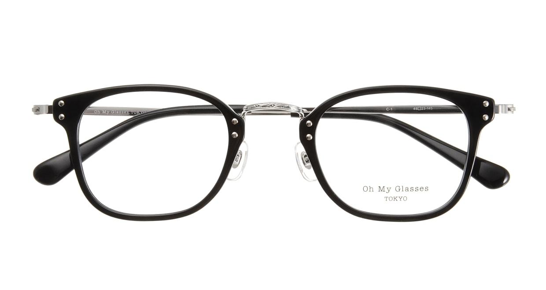 Oh My Glasses TOKYO Ivy omg-080-1 [黒縁/鯖江産/ウェリントン]  3