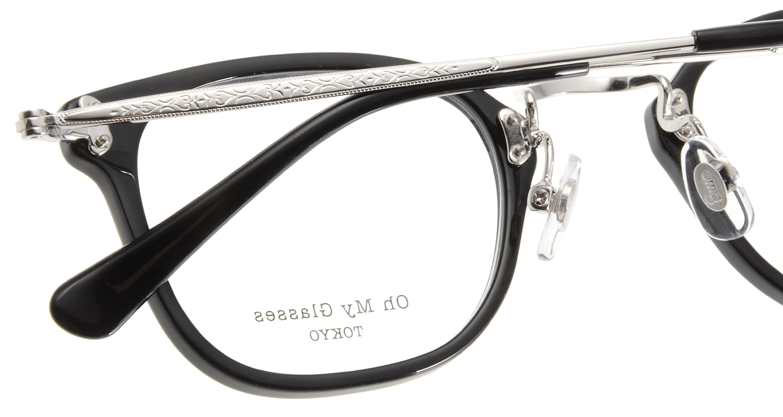 Oh My Glasses TOKYO Ivy omg-080-1 [黒縁/鯖江産/ウェリントン]  5