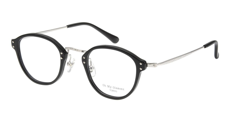 Oh My Glasses TOKYO Keith omg-081-1 [黒縁/鯖江産/丸メガネ]