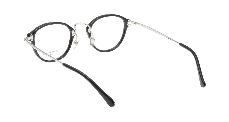Oh My Glasses TOKYO Keith omg-081-1 [黒縁/鯖江産/丸メガネ]  2