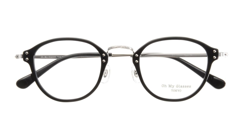 Oh My Glasses TOKYO Keith omg-081-1 [黒縁/鯖江産/丸メガネ]  3
