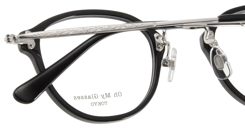 Oh My Glasses TOKYO Keith omg-081-1 [黒縁/鯖江産/丸メガネ]  5