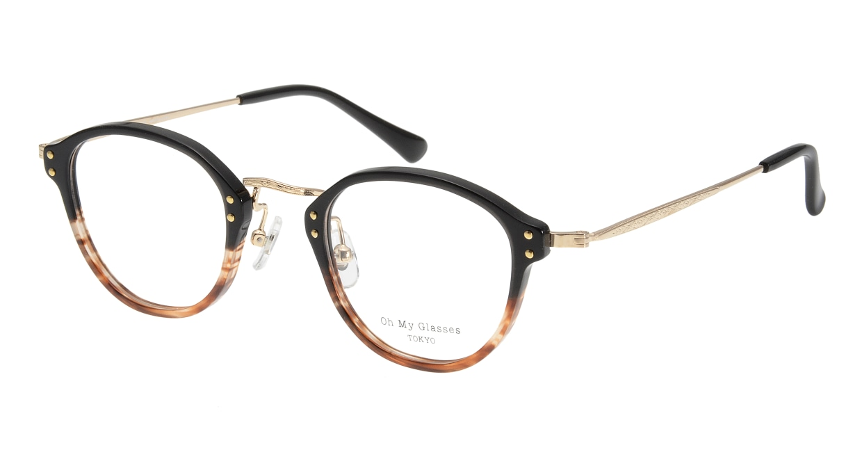 Oh My Glasses TOKYO Keith omg-081-2 [鯖江産/丸メガネ/茶色]