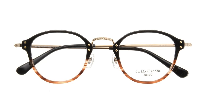Oh My Glasses TOKYO Keith omg-081-2 [鯖江産/丸メガネ/茶色]  3