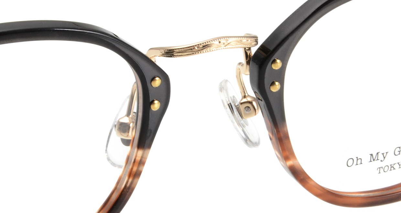 Oh My Glasses TOKYO Keith omg-081-2 [鯖江産/丸メガネ/茶色]  4