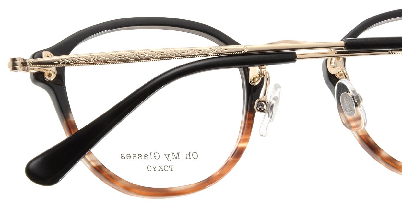 Oh My Glasses TOKYO Keith omg-081-2 [鯖江産/丸メガネ/茶色]  5