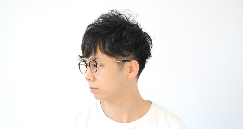 Oh My Glasses TOKYO Keith omg-081-2-46 [鯖江産/丸メガネ/茶色]  7