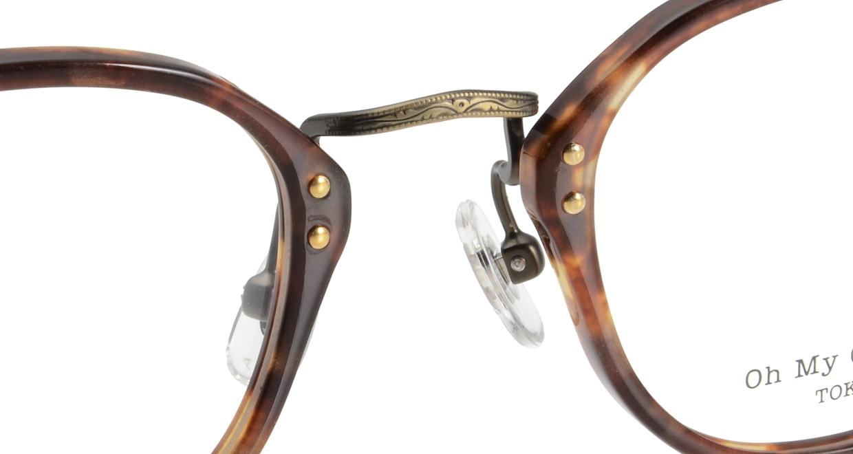 Oh My Glasses TOKYO Keith omg-081-3-46 [鯖江産/丸メガネ/べっ甲柄]  4
