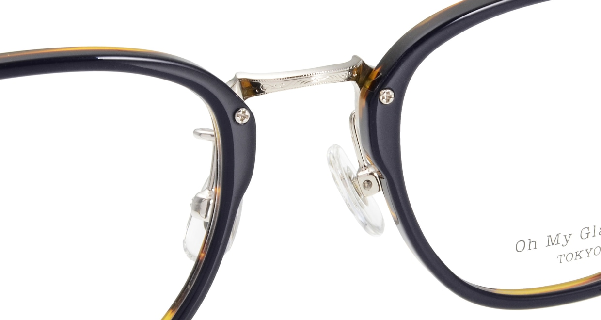 Oh My Glasses TOKYO Otto omg-082-3 [鯖江産/ウェリントン/青]  4