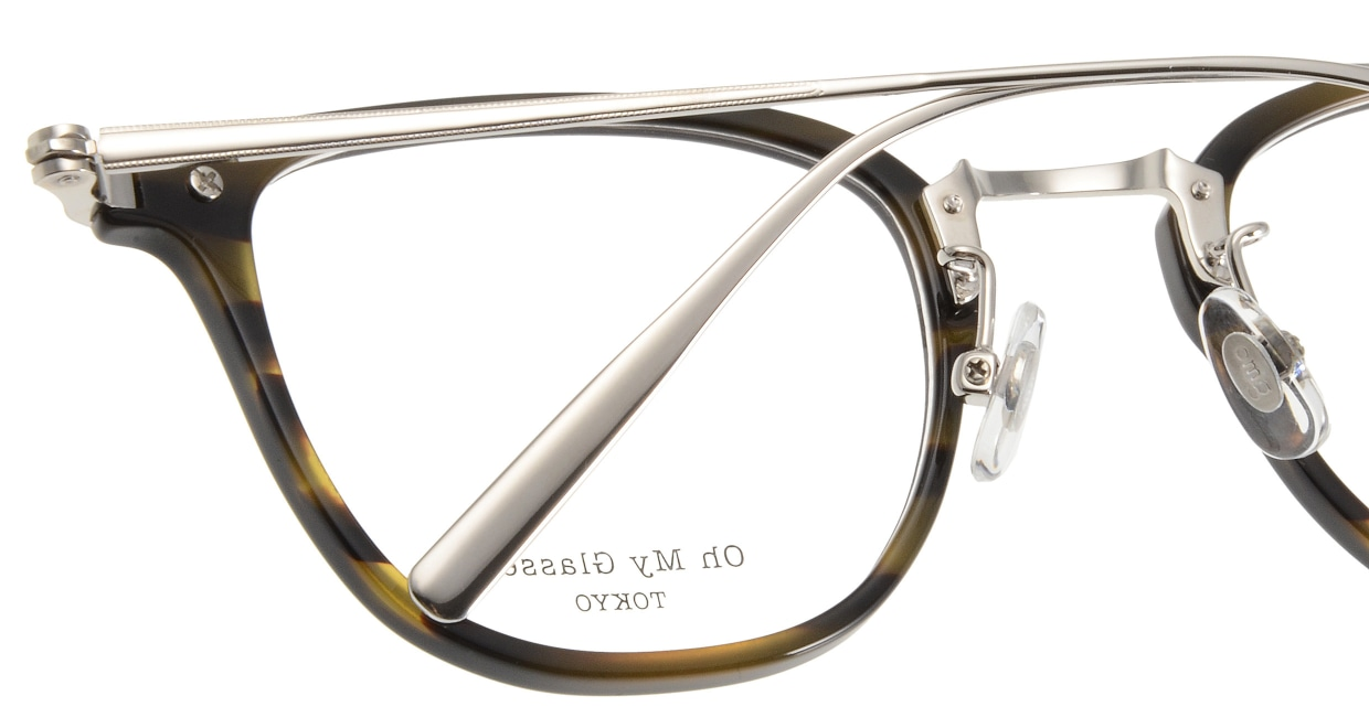 Oh My Glasses TOKYO Otto omg-082-3 [鯖江産/ウェリントン/青]  5