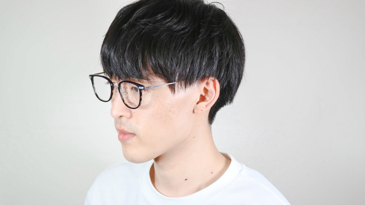 Oh My Glasses TOKYO Otto omg-082-40-20 [鯖江産/ウェリントン/青]  7