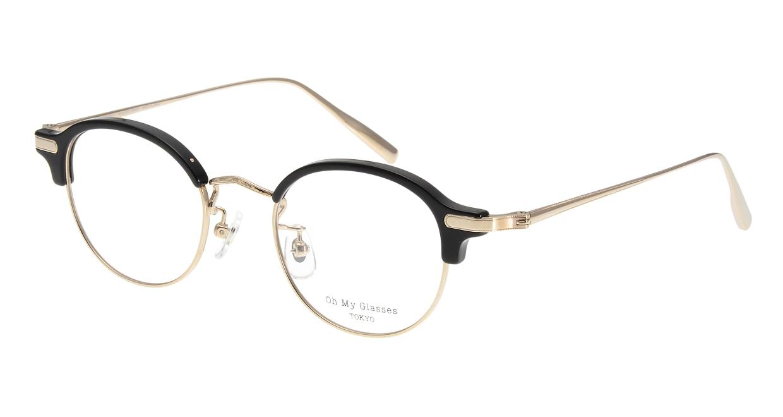 Oh My Glasses TOKYO Ralph omg-083-BK [黒縁/鯖江産/丸メガネ]