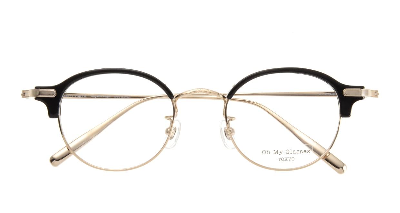 Oh My Glasses TOKYO Ralph omg-083-BK [黒縁/鯖江産/丸メガネ]  3
