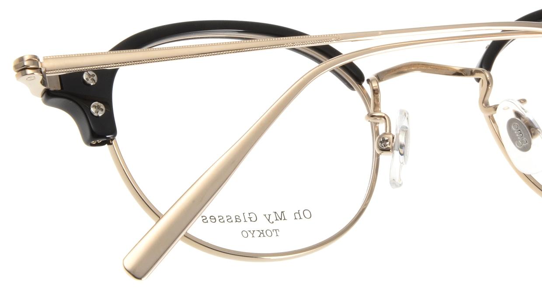 Oh My Glasses TOKYO Ralph omg-083-BK [黒縁/鯖江産/丸メガネ]  5
