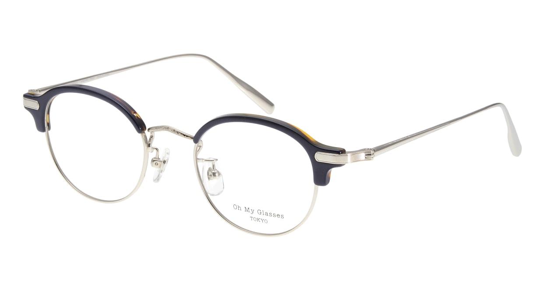 Oh My Glasses TOKYO Ralph omg-083-NV [鯖江産/丸メガネ/青]