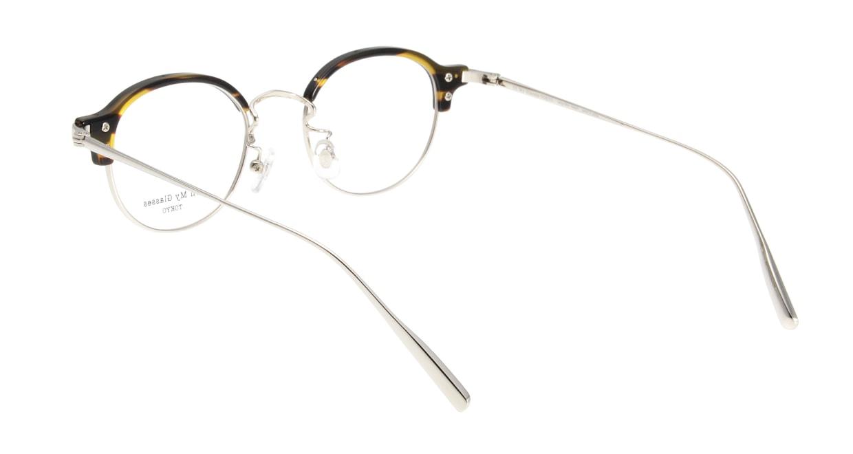 Oh My Glasses TOKYO Ralph omg-083-NV [鯖江産/丸メガネ/青]  2