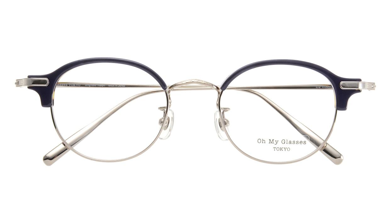 Oh My Glasses TOKYO Ralph omg-083-NV [鯖江産/丸メガネ/青]  3