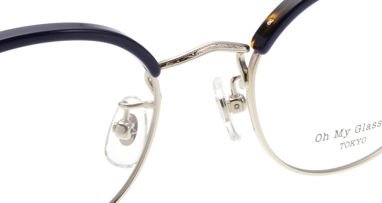 Oh My Glasses TOKYO Ralph omg-083-NV [鯖江産/丸メガネ/青]  4