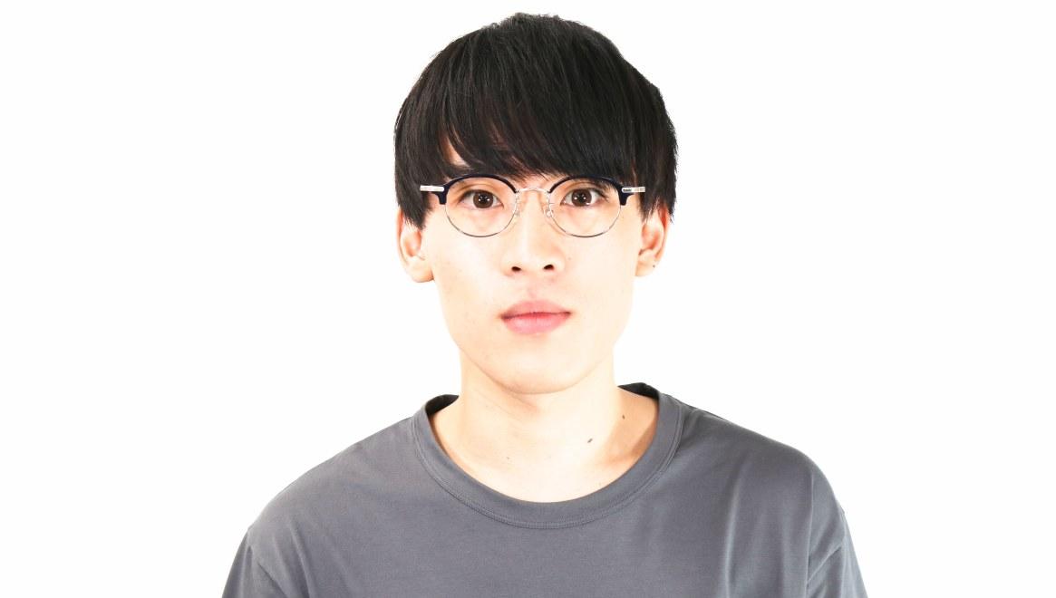 Oh My Glasses TOKYO Ralph omg-083-NV [鯖江産/丸メガネ/青]  6