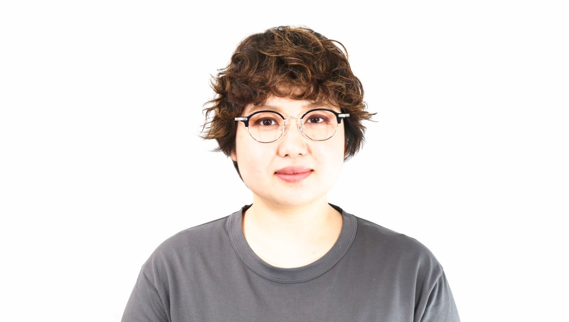 Oh My Glasses TOKYO Ralph omg-083-NV [鯖江産/丸メガネ/青]  8