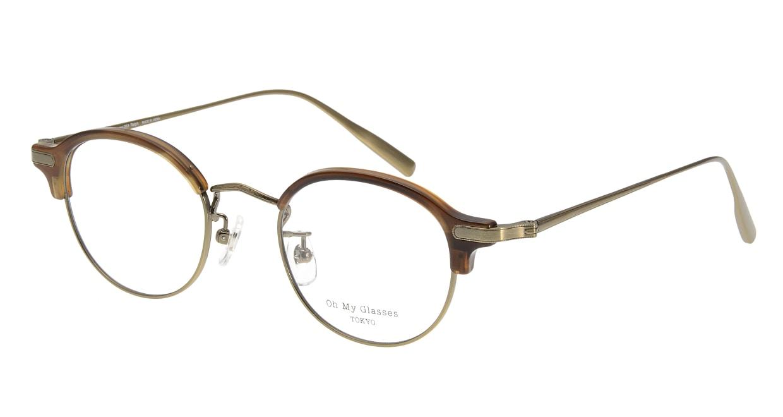 Oh My Glasses TOKYO Ralph omg-083-HAV [鯖江産/丸メガネ/茶色]