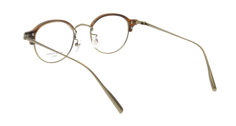 Oh My Glasses TOKYO Ralph omg-083-HAV [鯖江産/丸メガネ/茶色]  2