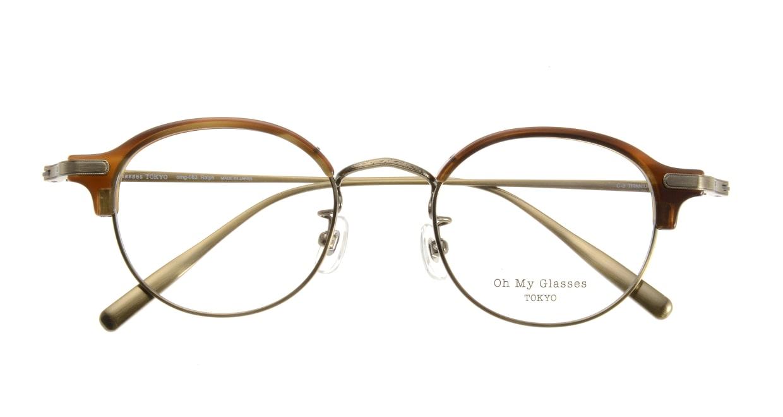 Oh My Glasses TOKYO Ralph omg-083-HAV [鯖江産/丸メガネ/茶色]  3