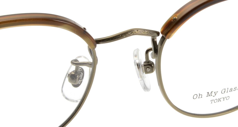 Oh My Glasses TOKYO Ralph omg-083-HAV [鯖江産/丸メガネ/茶色]  4