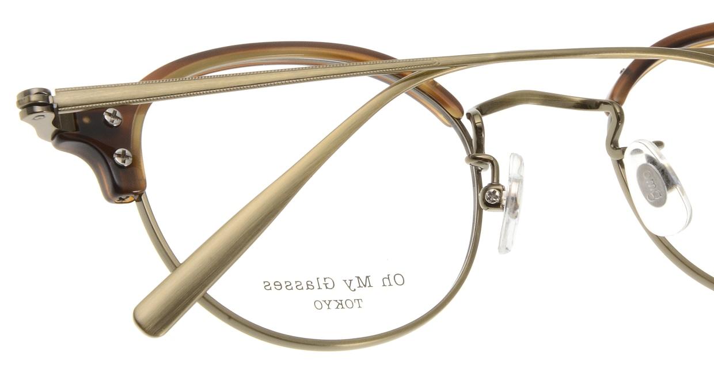 Oh My Glasses TOKYO Ralph omg-083-HAV [鯖江産/丸メガネ/茶色]  5