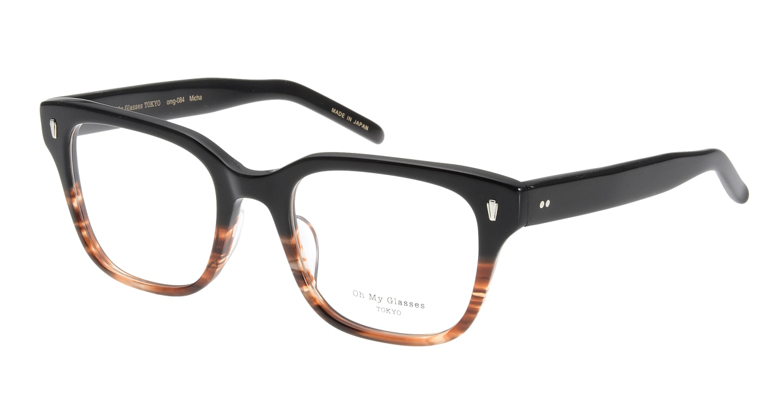 Oh My Glasses TOKYO Micha omg-084-2-51 [黒縁/鯖江産/ウェリントン]